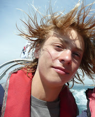 powerboating not so good for the hair!