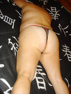 Deitada