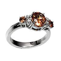 unique summer gemstone diamond engagement rings