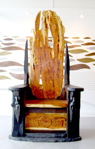 Celtic Chieftain&#39;s Throne
