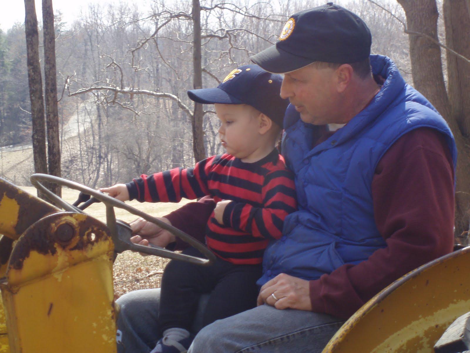 MCR\'s thoughts...: My little farmer boy...