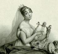 Hortense met harp