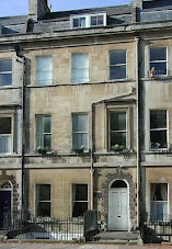 4 Sydney Place, Bath…where she lived too.