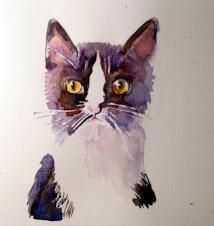 Een kat...een eigenzinnig wezen.....
