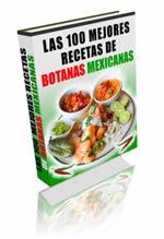 Botanas Mexicanas , incluímos decenas de sabrosas y fáciles botanas