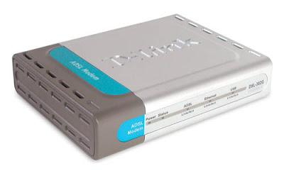 Adsl d-link modem