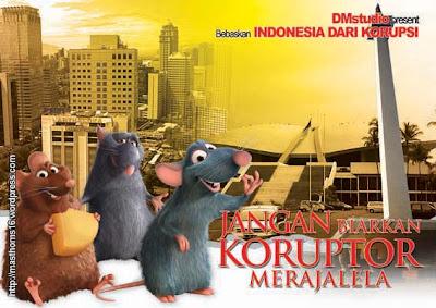 stop korupsi di Indonesia