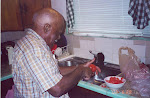 Daddy in His Kitchen