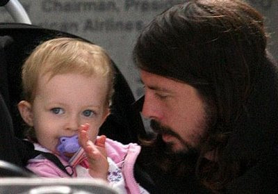 Dave Grohl and Daughter Violet