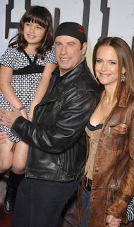travoltafamily John Travolta and Family