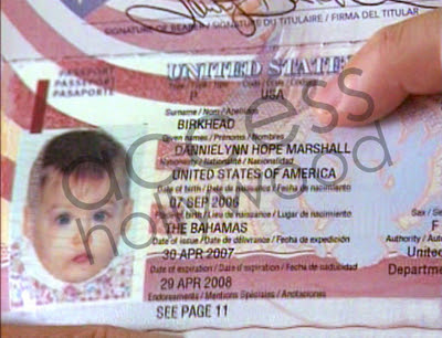 danlyn Dannielynn Birkheads Passport Photo