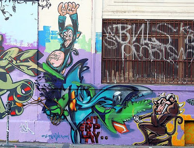 graffiti murals, alphabet graffiti, graffiti art