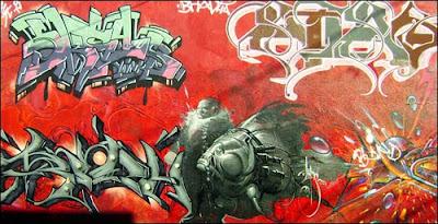street 3D graffiti alphabet arrow, drawing 3d graffiti alphabet arrow