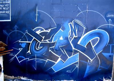 graffiti alphabet-blue graffiti alphabet, graffiti letter