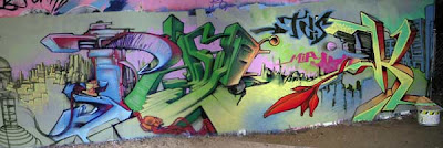 alphabet graffiti, graffiti murals