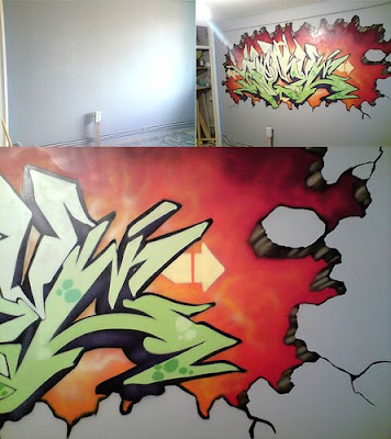 3d graffiti, murals graffiti, graffiti art