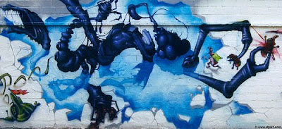 graffiti art, art, murals graffiti