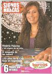 """Virginia en la portada del Nº 54 de """"Signos y Marcas"""""""