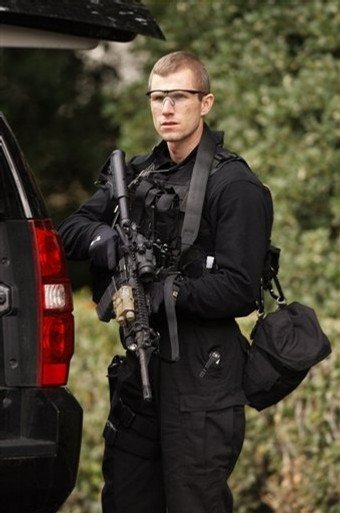 US secret service sniper