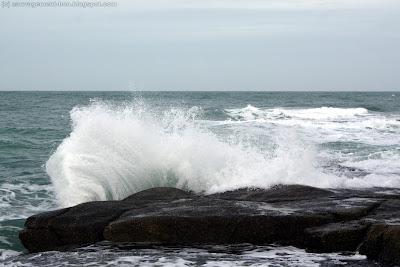 Embruns à marée haute