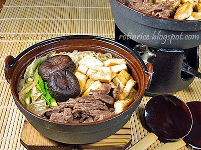 Sukiyaki Roti N Rice