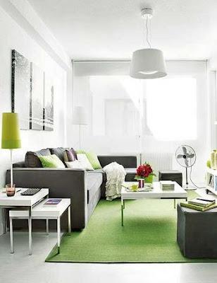 Decoración de casas pequeñas: Un apartamento de 40 metros cuadrados