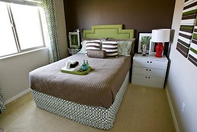 decoración, antes  después, cabecero de cama, lámpara, reciclado