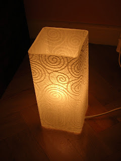 tunear ikea, ikea, lamparas, papeles, hecho a mano