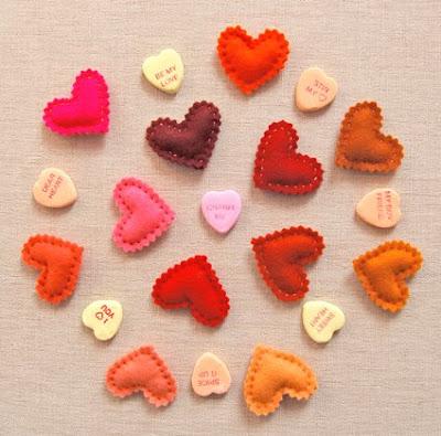 corazones, hecho a mano,san valentín