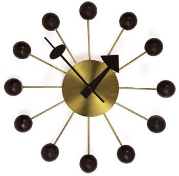 George Nelson, diseño, relojes, vintage