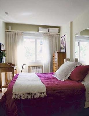 aprovechar el espacio de una habitación pequeña al máximo