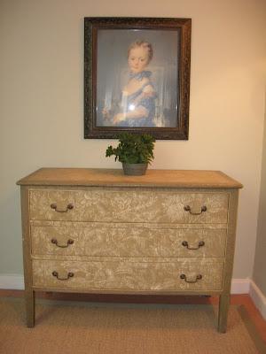 decoración restauración, cómoda restaurada