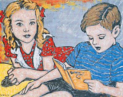 David Bromley, artistas, pintura