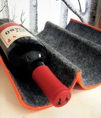 Tutorial: Como hacer un botellero pequeño con muy poco presupuesto, reciclado, cartón, vino