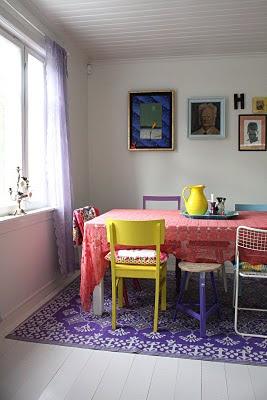 reciclado, sillas, encontrado en la calle, pintar, tapizar, telas