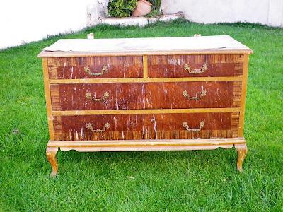 Cositas Vintage - fotos muebles restaurados antes despues