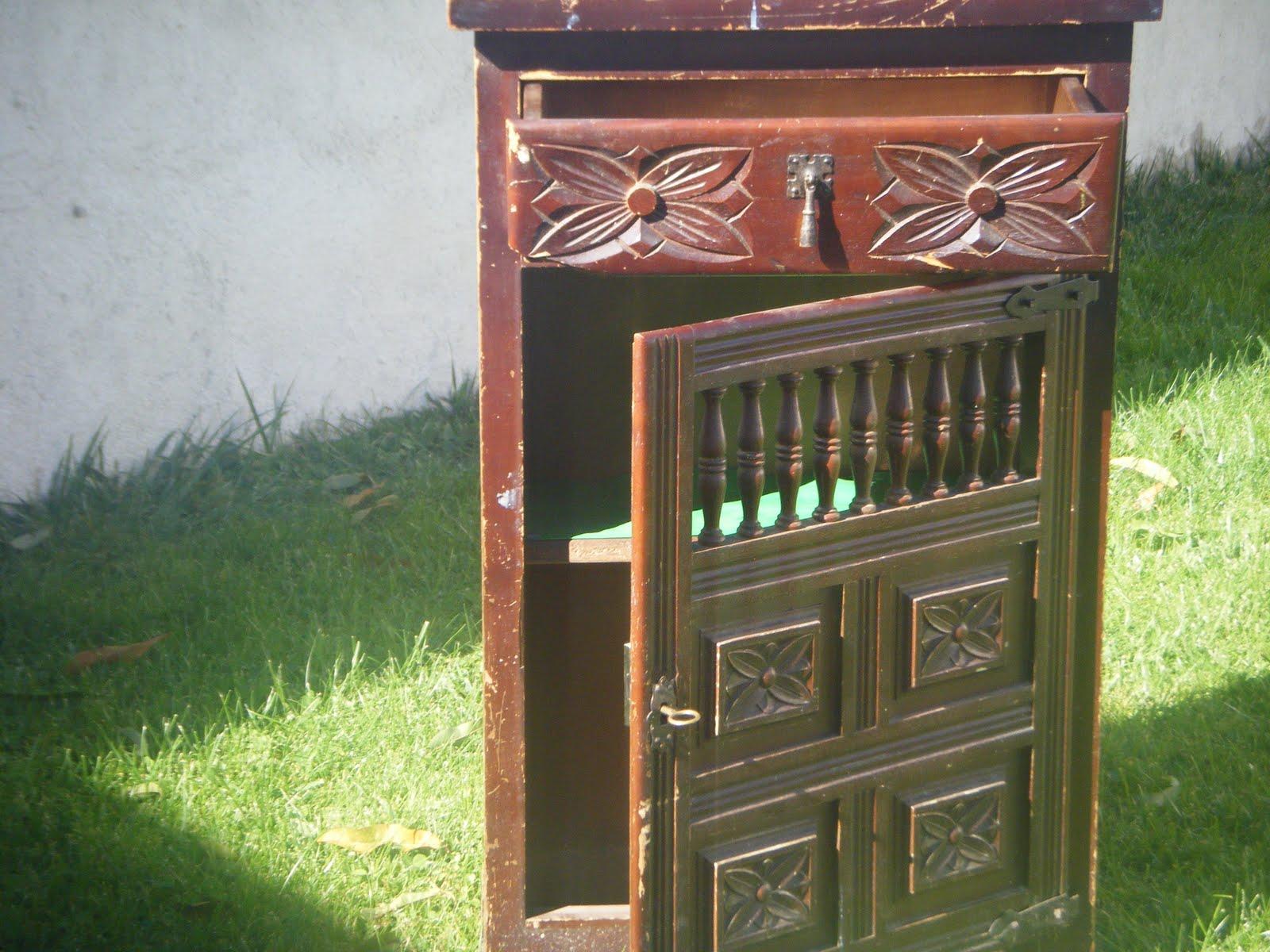 Naifandtastic decoraci n craft hecho a mano for Mueble castellano restaurado