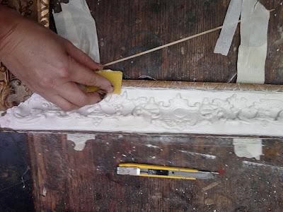Tutorial, recuperar, marco , pintar, restaurar