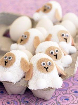 lamb egg covers