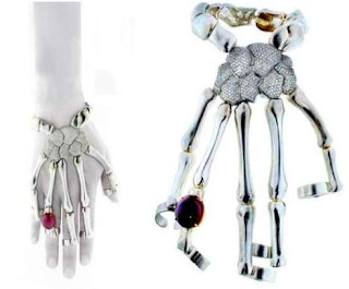 skeletal hand jewelry
