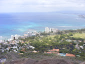 On top of Diamond Head