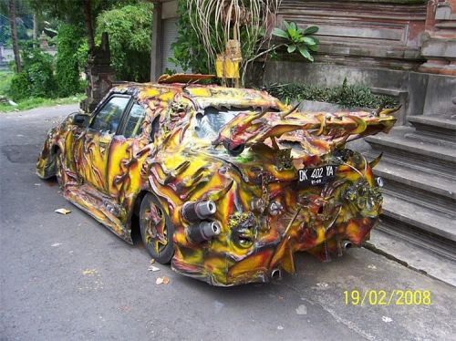 extreme car full color