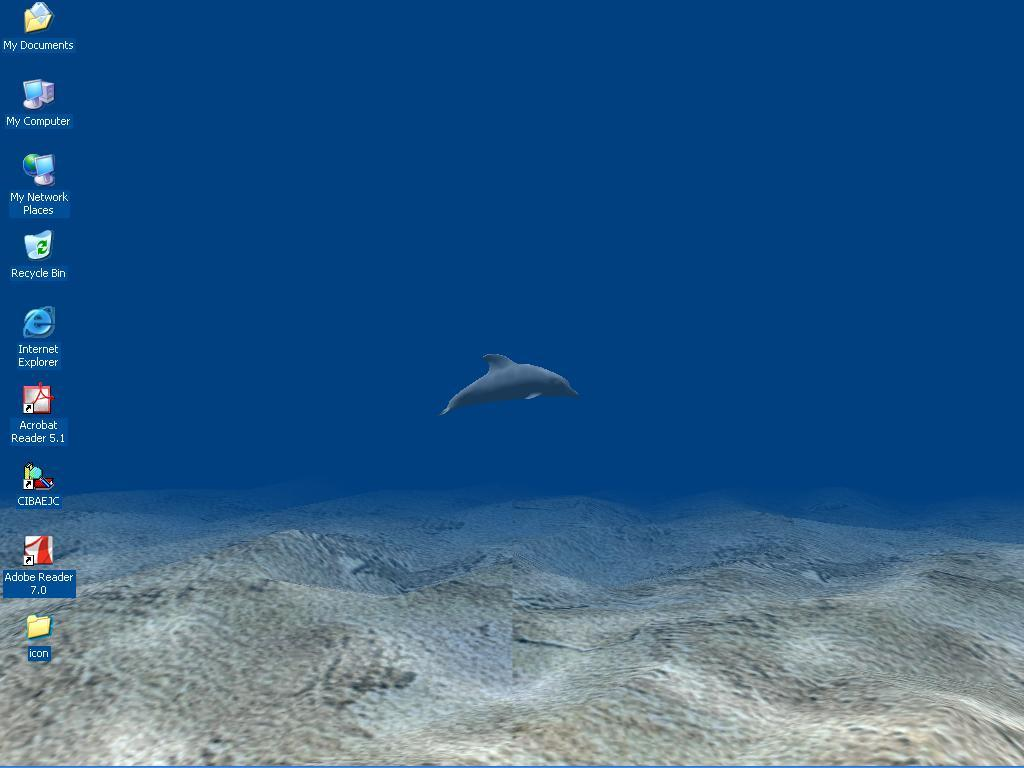 Watery Desktop D Animated Wallpaper Screensaver Free software