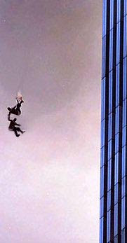 the man jumping from world trade center