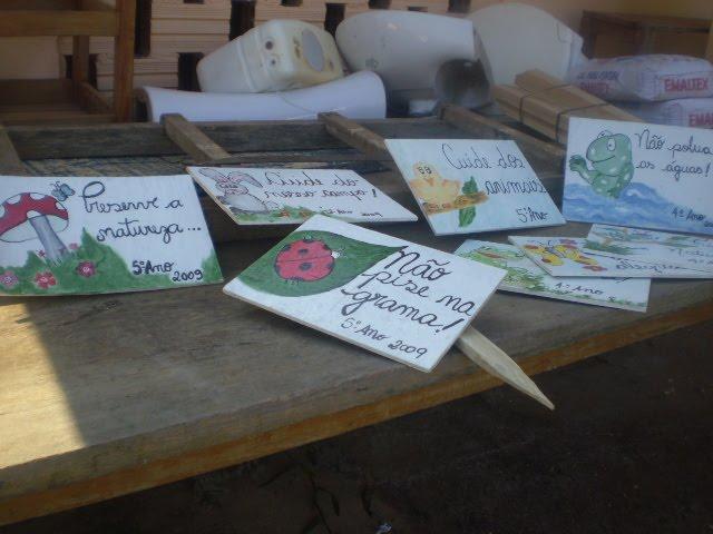 Placas de preservação