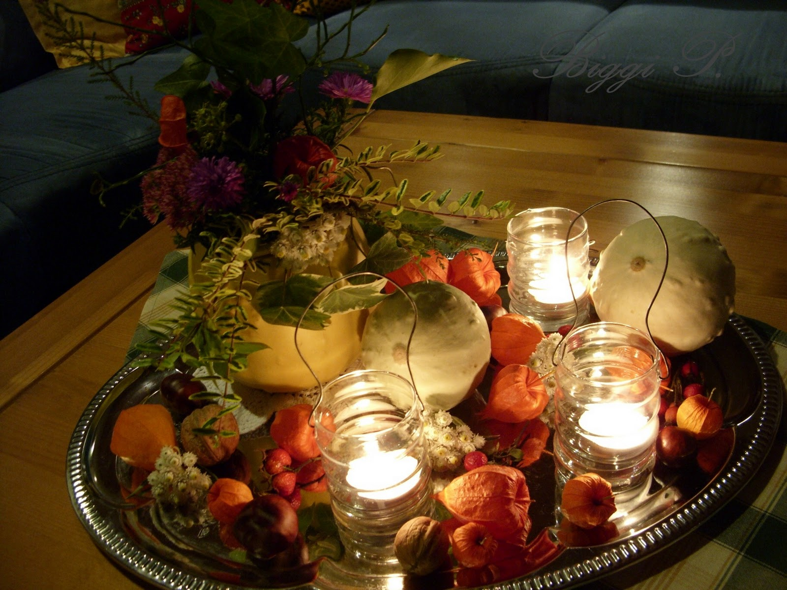 Herbstdeko Pilze Nähen : LIVING AT HOME Heft 10 2015 [LIVING AT HOME]
