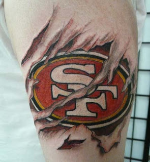 1000 images about 49er tattoos on pinterest san francisco 49ers san francisco tattoo and fan. Black Bedroom Furniture Sets. Home Design Ideas