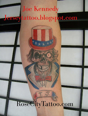 unclesam tattoo
