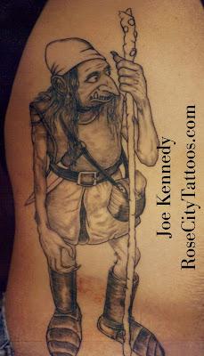 faery tattoo