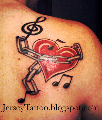 Music Chained Heart